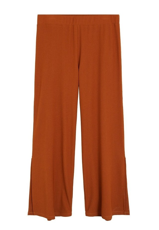 IMPERIA6 - Trousers - bräunliches orange