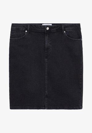 INMA - Jeansnederdel/ cowboy nederdele - black denim