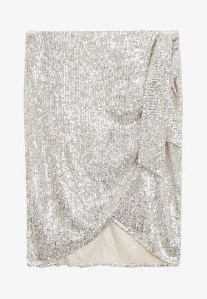 STEFY-I - A-line skirt - silber