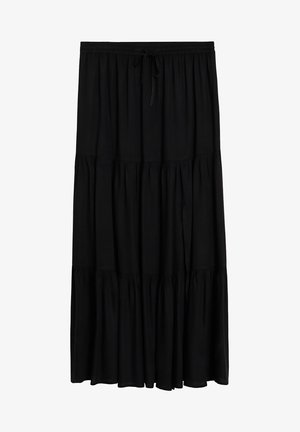 SUMMER - A-line skirt - schwarz