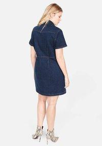 Violeta by Mango - Denim dress - dark blue - 2