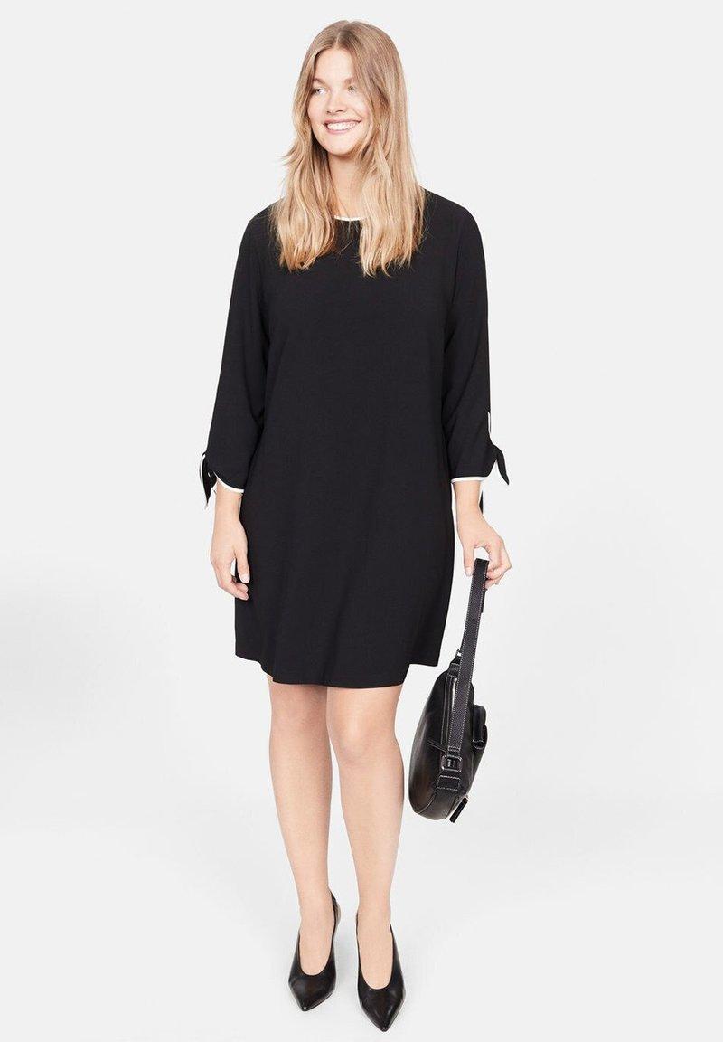 Violeta by Mango - PIPING - Day dress - black