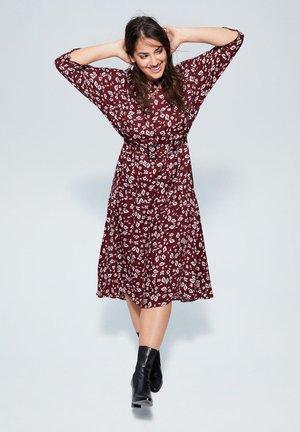 LEOPARD - Vapaa-ajan mekko - garnet