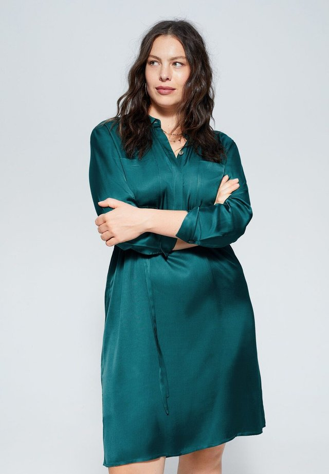 VISCO - Shirt dress - emerald