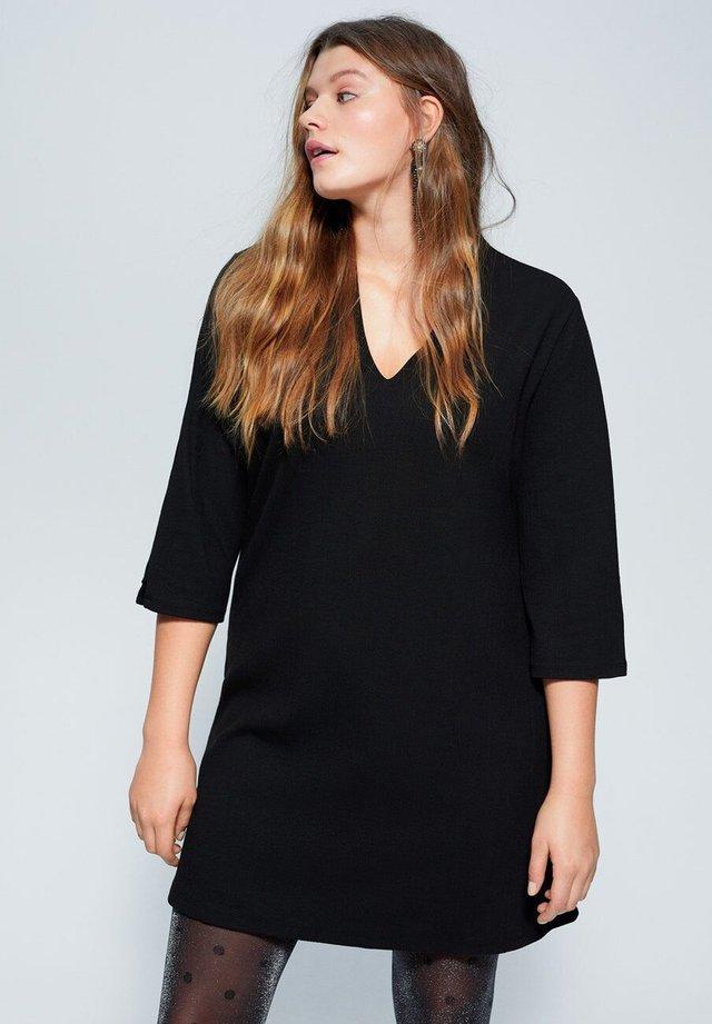JAMES - Korte jurk - black