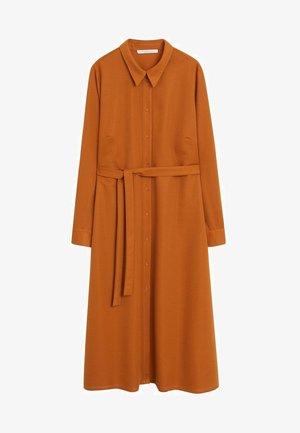 PARIS - Shirt dress - bräunliches orange