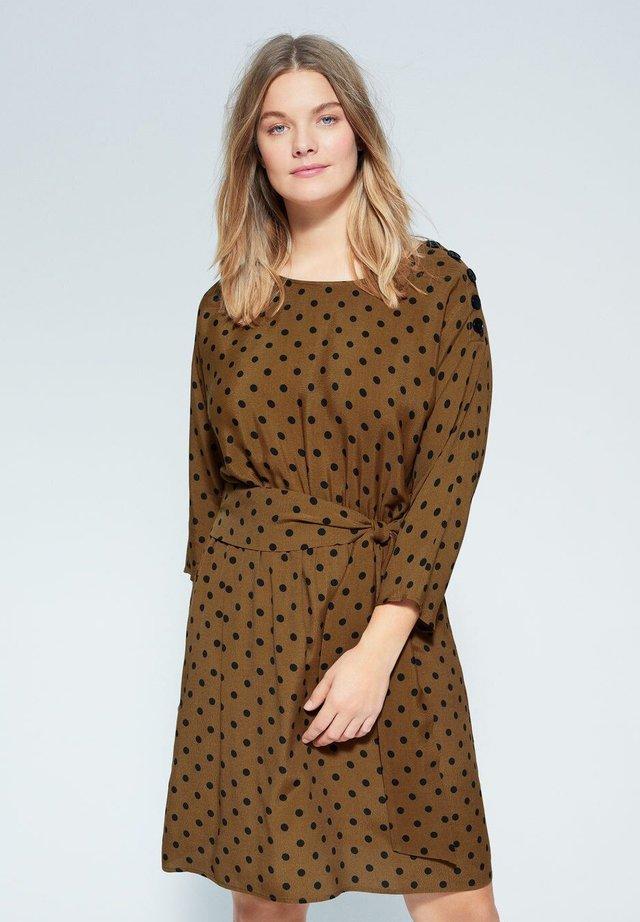 JULIA - Korte jurk - khaki