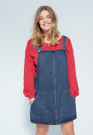 PICCHI - Denim dress - dunkelblau