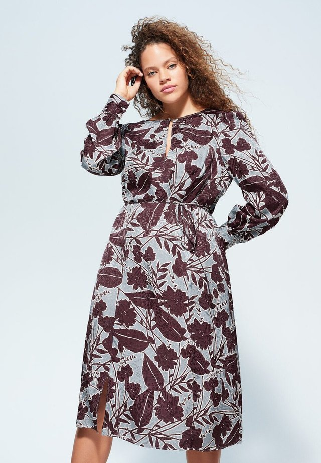 TULIPA - Korte jurk - wassergrün