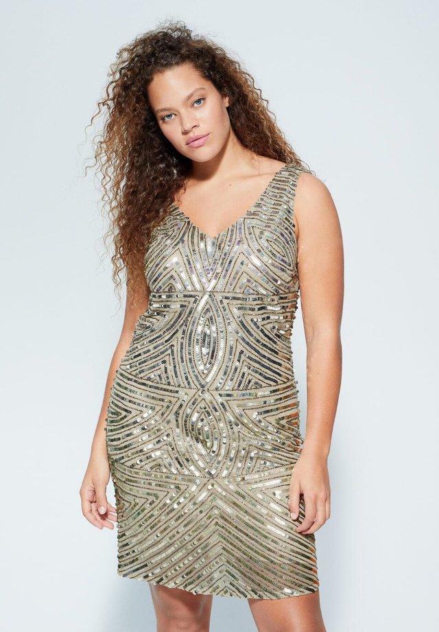DIAMONDI - Cocktail dress / Party dress - beige