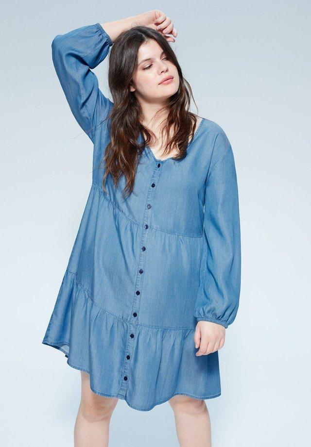 BELEN - Jeanskjole / cowboykjoler - medium blue