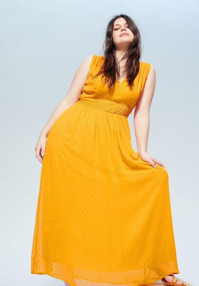 SOLAR - Maxi-jurk - gelb