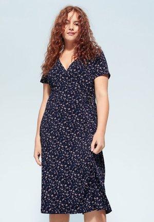 CROSS - Day dress - dunkles marineblau