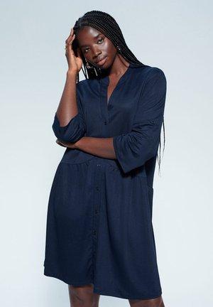 BOHO - Shirt dress - dunkles marineblau
