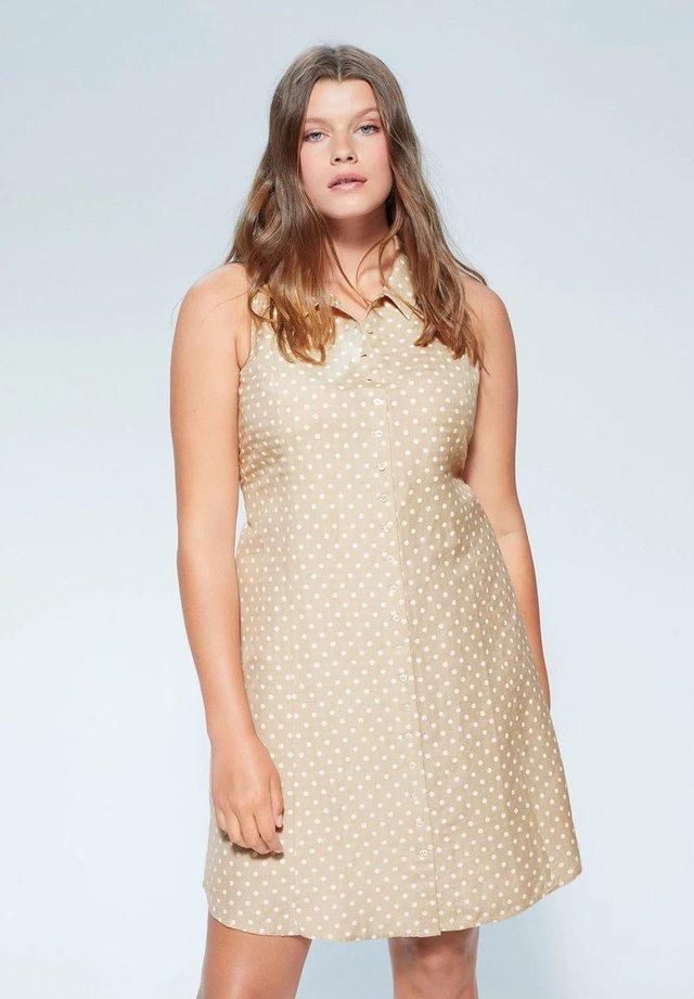 COTILIP - Shirt dress - beige