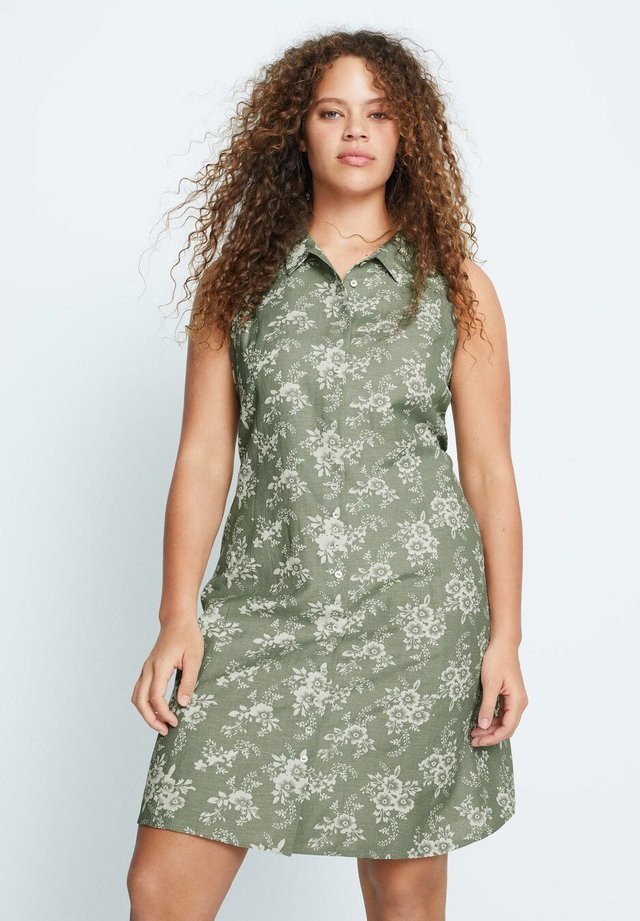 COTILIP - Shirt dress - pastellgrün