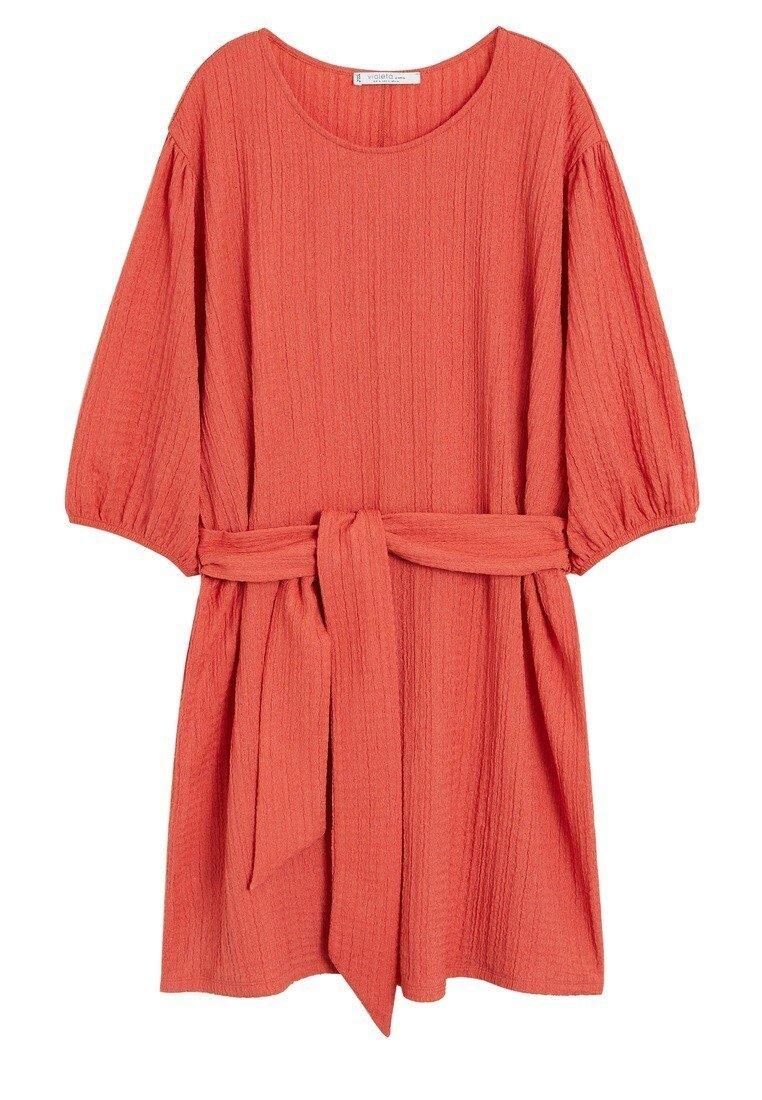 Violeta by Mango - CORAL - Day dress - korallrot
