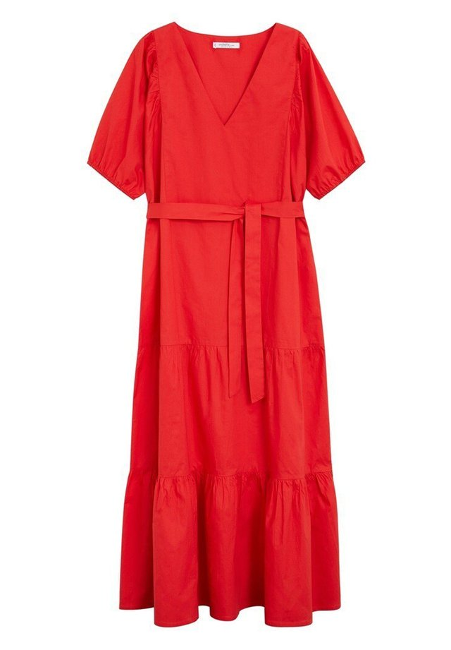 POP - Korte jurk - rot