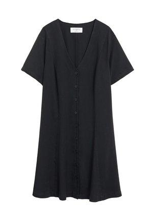MINERVA - Skjortekjole - schwarz