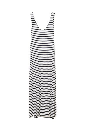 NUAY - Vestido largo - dunkles marineblau