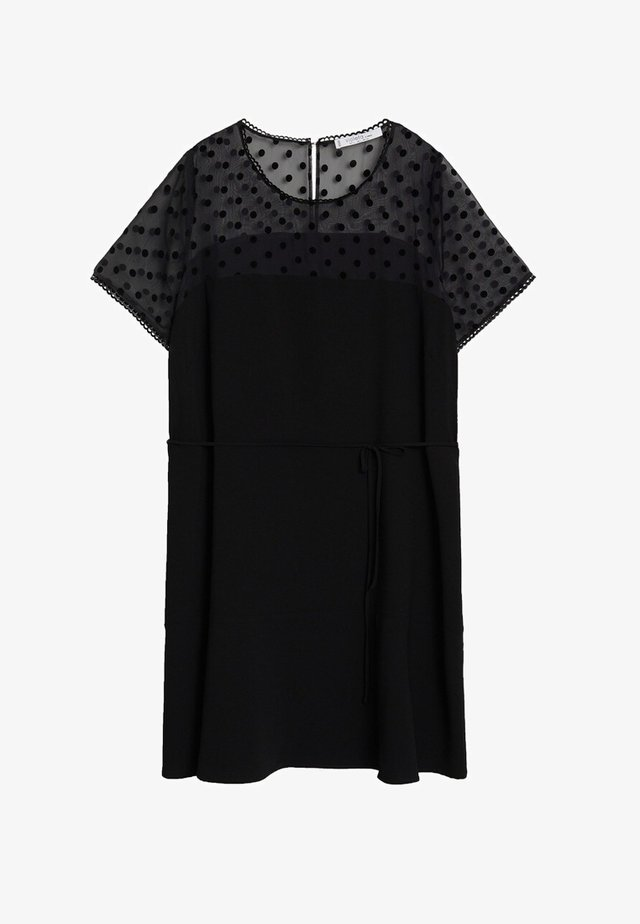 RESORT - Day dress - black
