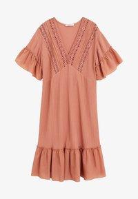 Violeta by Mango - ROSE - Jumper dress - rosa - 0