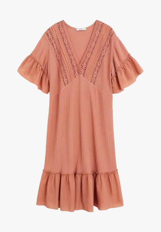 ROSE - Gebreide jurk - rosa