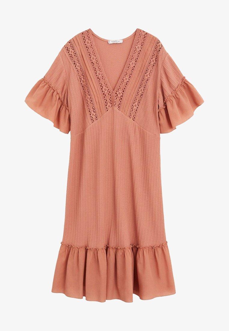 Violeta by Mango - ROSE - Jumper dress - rosa