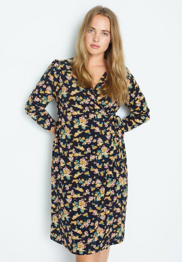 CROSS - Sukienka letnia - dunkles marineblau