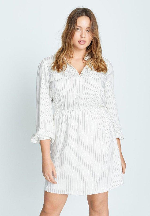 LINEAS-I - Sukienka koszulowa - cremeweiß