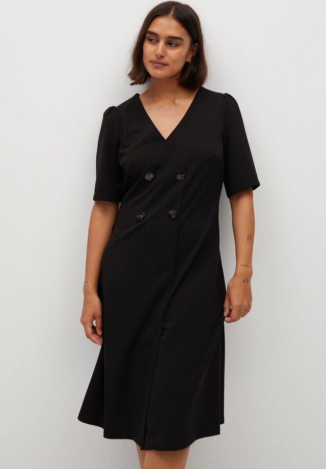 BETTY - Jersey dress - zwart