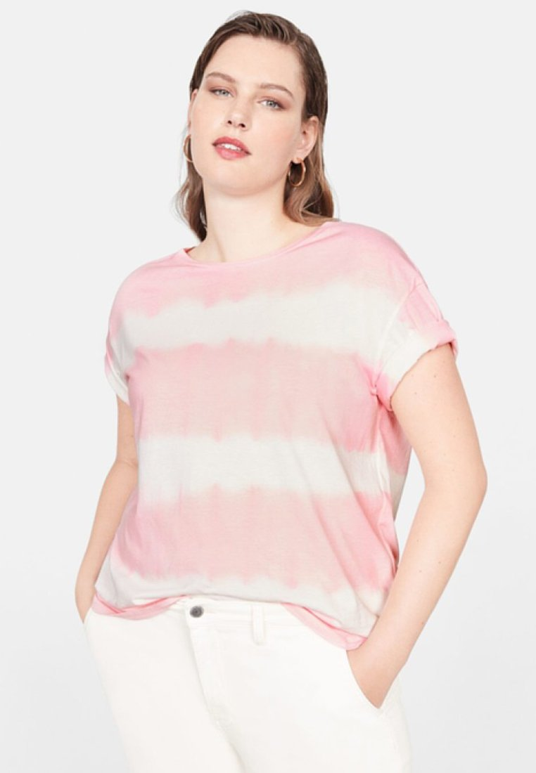 Violeta by Mango - ROSETA - T-shirt print - pink