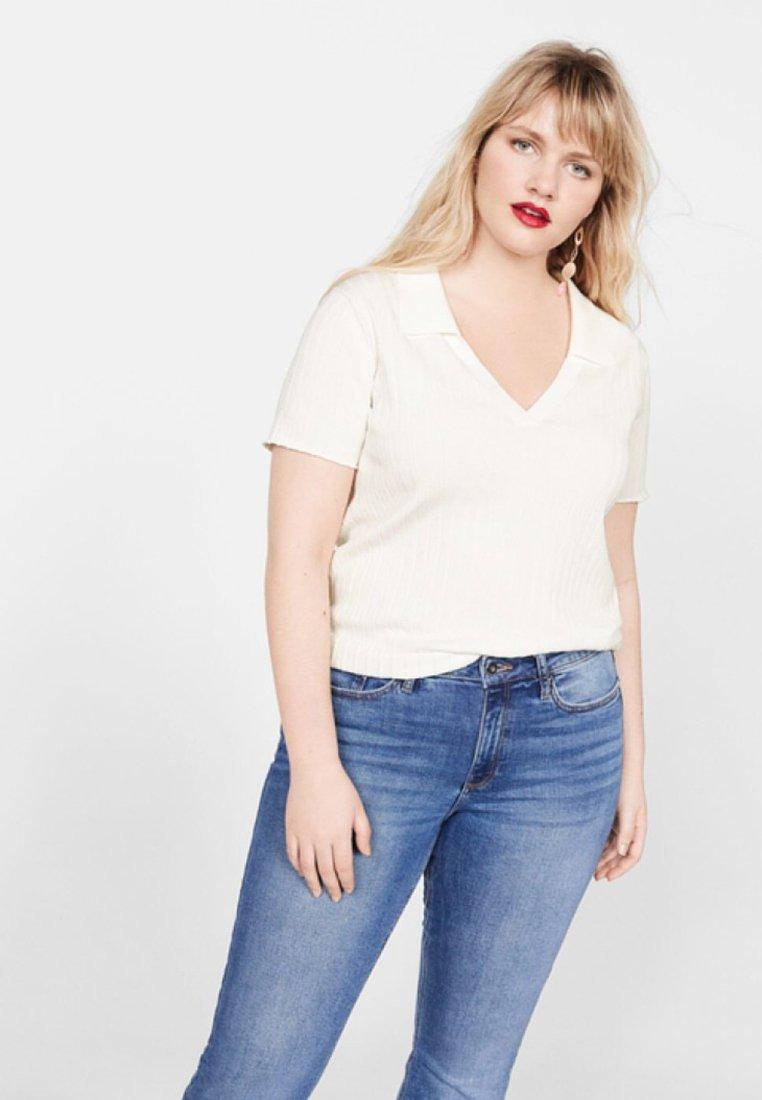 Violeta by Mango - JACQUES - T-shirt print - off-white