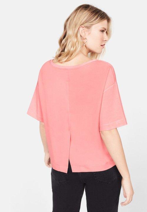 Violeta by Mango SIMON - T-shirt basic - pink Koszulki i Topy GIMO-TU6 trwałe modelowanie