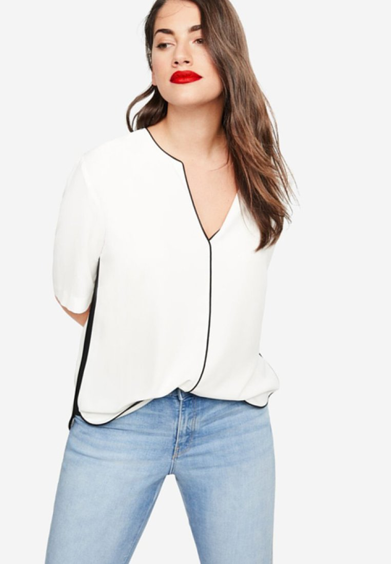 Violeta by Mango - PIPING - Blouse - off-white