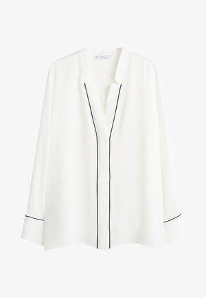 PIPING - Blouse - cream white