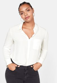 Violeta by Mango - SEDI - Button-down blouse - cream white - 0