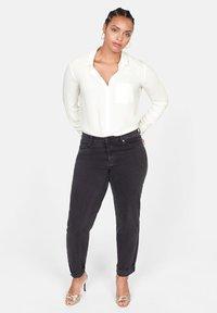Violeta by Mango - SEDI - Button-down blouse - cream white - 1