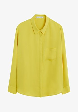SEDI - Button-down blouse - lime