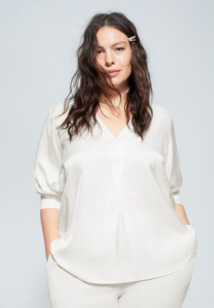 VISCO - Blusa - creamy white