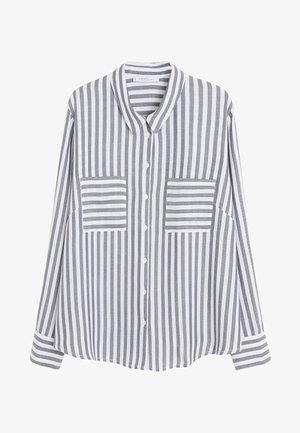 MUSIC - Button-down blouse - grau