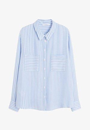 MUSIC - Button-down blouse - blau