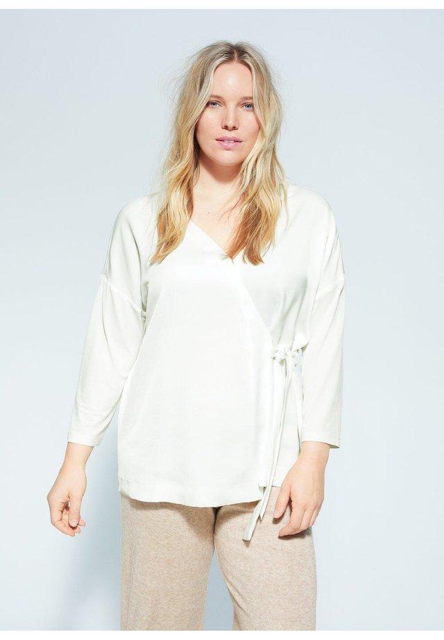 RODICRUZ - Bluse - cremeweiß