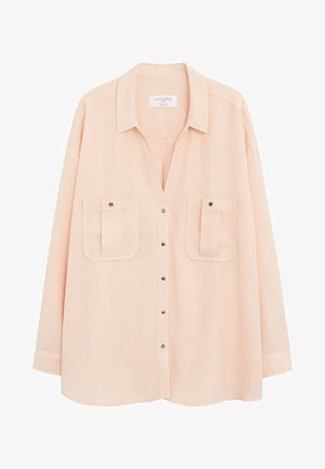 APRILE - Button-down blouse - lachs