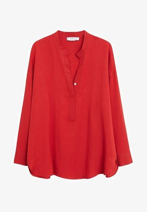 TWILLY - Blouse - weinrot