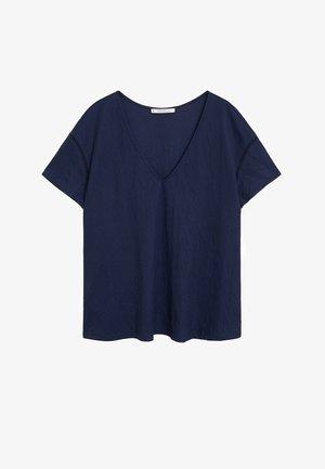 BEGO - T-shirt z nadrukiem - donkermarine