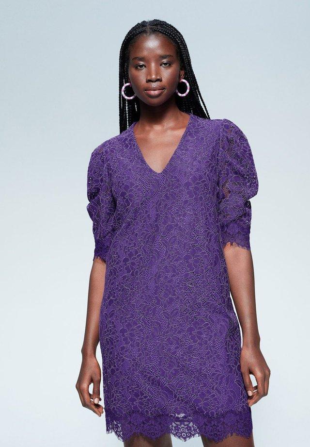 BLONDER - Korte jurk - lila