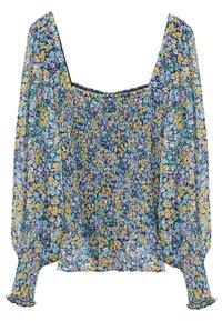 Violeta by Mango - DULCE - Long sleeved top - blau - 0