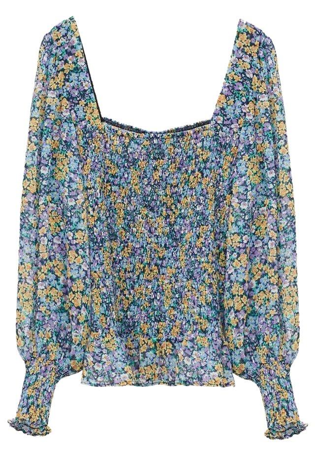 DULCE - Langærmede T-shirts - blau