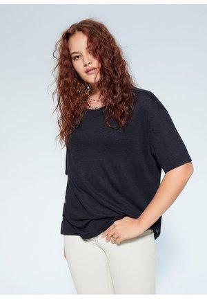 SILVERY6 - T-shirts print - bleu marine foncé